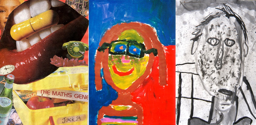 Children express ideas about themselves