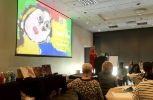 Raquel Redmond presenting
