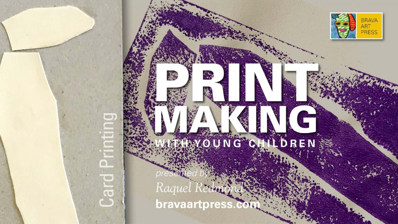 Print Making with young children